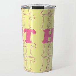 art hoe Travel Mug