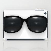 sunglasses iPad Cases featuring sunglasses by Vadim Ivanchin