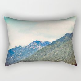 Touch of Turquoise Rectangular Pillow