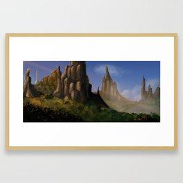 Fendrake Valley Framed Art Print