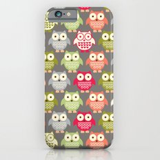 Forest Friends Owls iPhone 6 Slim Case