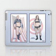 Steve Rogers and Bucky Barnes Calendar Boys Laptop & iPad Skin