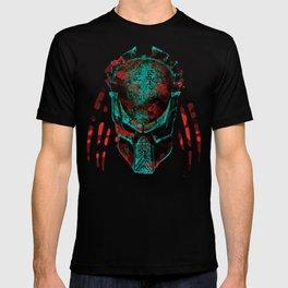 Soldier Predator Red Teal T-shirt