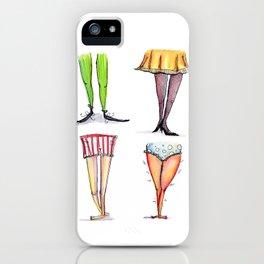 Legwork Squared iPhone Case