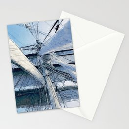 Nautical Sailing Adventure Stationery Cards
