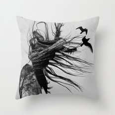 NEVER BEFORE Throw Pillow