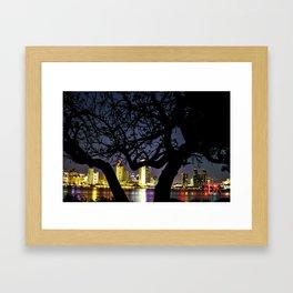 down town San Diego  Framed Art Print