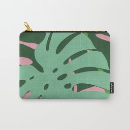Monstera Deliciosa Carry-All Pouch