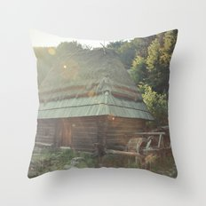 Water house Throw Pillow