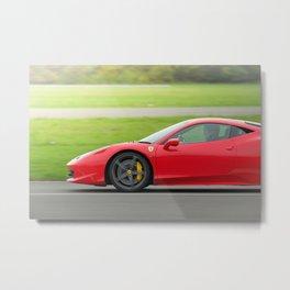 Ferrari 458 Metal Print