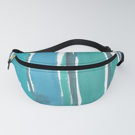 1  |  190408 Blue Abstract Watercolour Fanny Pack