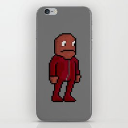 Choco, Survie Jumpsuit iPhone Skin