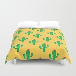 Pattern #13 B: Cactus Duvet Cover