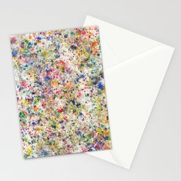 Abstract Artwork Colourful #7 Stationery Cards