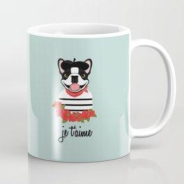 Je t'aime Frenchie Coffee Mug