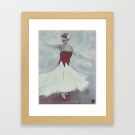 What are you drawing Ryan? // 169 Framed Art Print