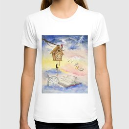 On the Edge of Time T-shirt