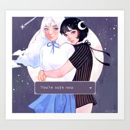safe with you - Art Print
