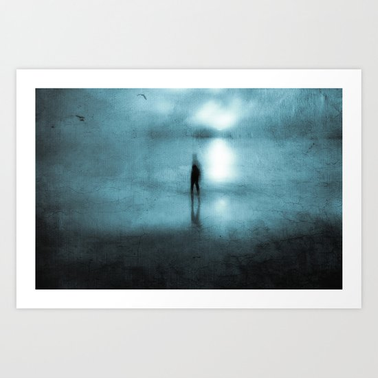 Head Above Water Art Print