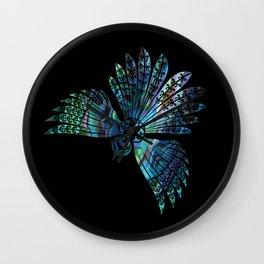 Fantail Wall Clock