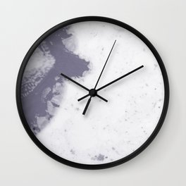 Marbled #100 Wall Clock