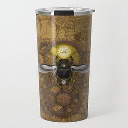 Egyptian Steampunk Travel Mug