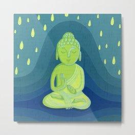 Buddha D Metal Print
