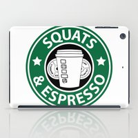 snatch iPad Cases featuring Squats and Espresso Logo by Squats and Espresso