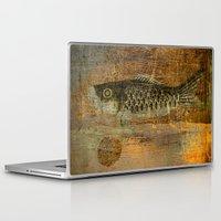 spawn Laptop & iPad Skins featuring 鯉 幟 (The Koinobori) by Fernando Vieira