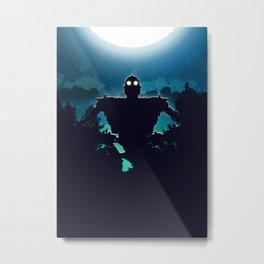 Iron Giant Metal Print