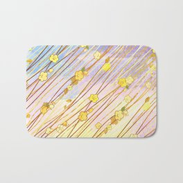 Creeping Flower & Leaves 2 Bath Mat