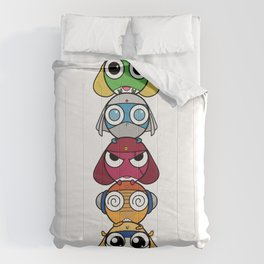 Leap Frogs in Space!! Comforters