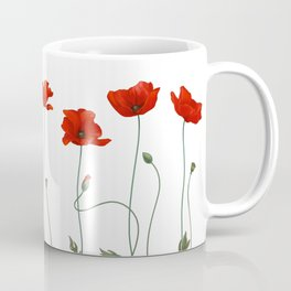 Poppy Stems Coffee Mug