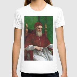 Raphael - Portrait of Pope Julius II T-shirt