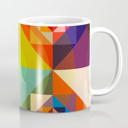 Abstract Multicolor Graphic Design Art - Cambion Coffee Mug