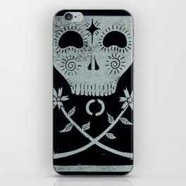 Acceptance (Black) iPhone Skin