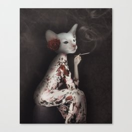 Pussy Sue Canvas Print