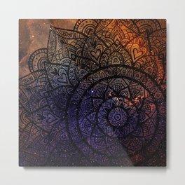 Space mandala 17 Metal Print