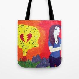 Heartbreak's Ashes Tote Bag
