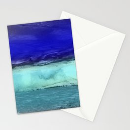 Midnight Waves Seascape Stationery Cards