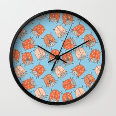 Pattern Project #48 / Lucky Bug Wall Clock