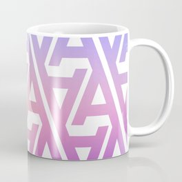 "Typographic Pattern ""A"", Color Coffee Mug"