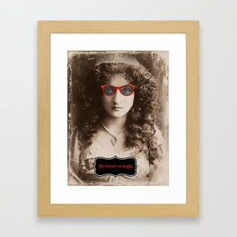 Gotta Wear Shades Framed Art Print
