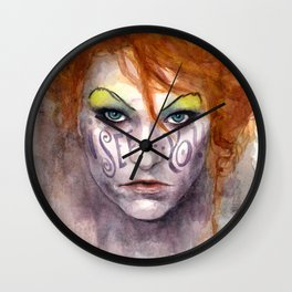 I See You Amanda Palmer Wall Clock