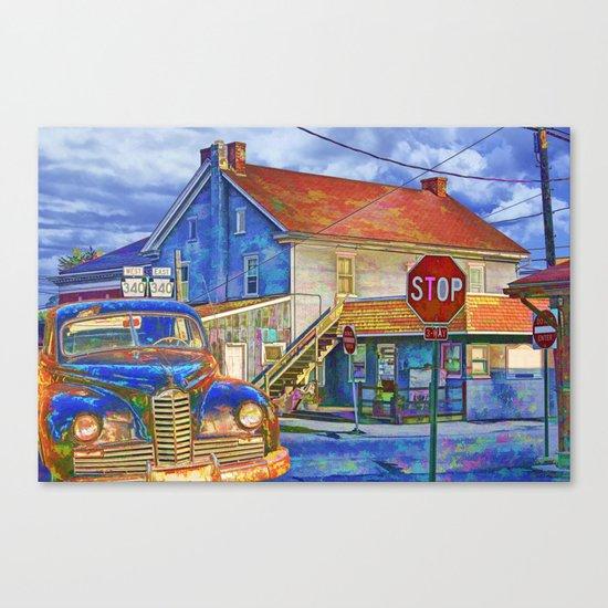 The Crossroads Canvas Print