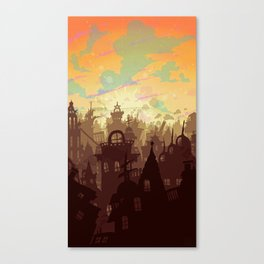 Waiting for the Day Canvas Print