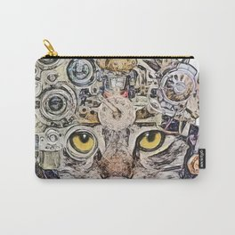 Sci Fi Cat Carry-All Pouch