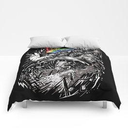 Dark Side of the Rainbow Comforters
