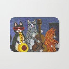 Jazz Cats Bath Mat
