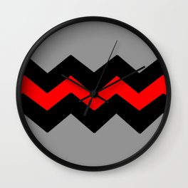 Couleurs imaginaires :Drapeau des cons. Wall Clock